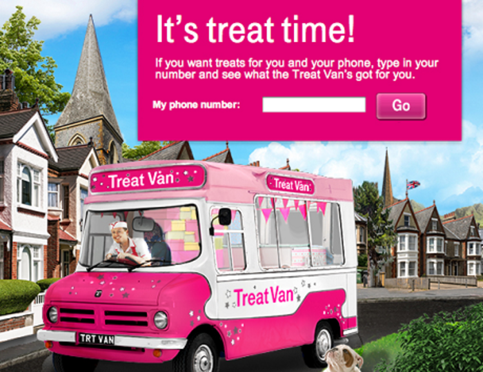 T-Mobile Treat Van : All Treat No Trick